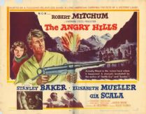 The Angry Hills 1959 DVD - Robert Mitchum / Stanley Baker